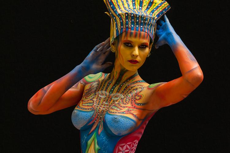 Amazing Body Paint Gifs