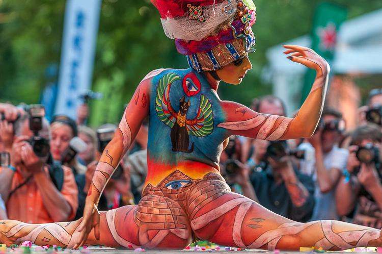 World Bodypainting Festival 2013 Portschach Austria